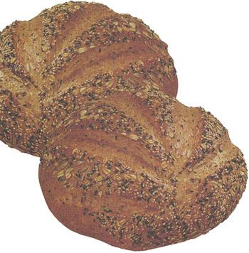 В состав хлеба фитнес входят ядра